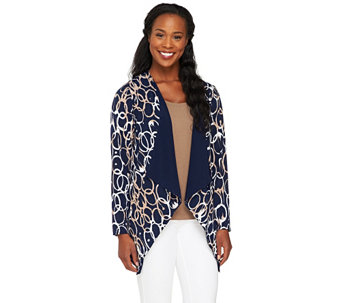 """As Is"" Attitudes by Renee Cascade Front Reverse Jacket - A290971"