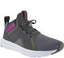 PUMA Mesh Mid Lace-up Sneakers - Enzo - A291971
