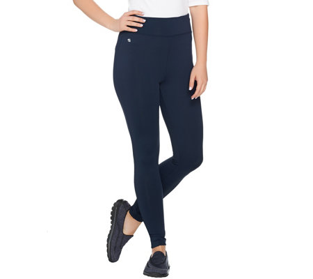 """As Is"" cee bee CHERYL BURKE Petite High Waist_Leggings"
