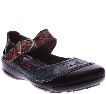 Spring Step Leather Clogs - Dexter