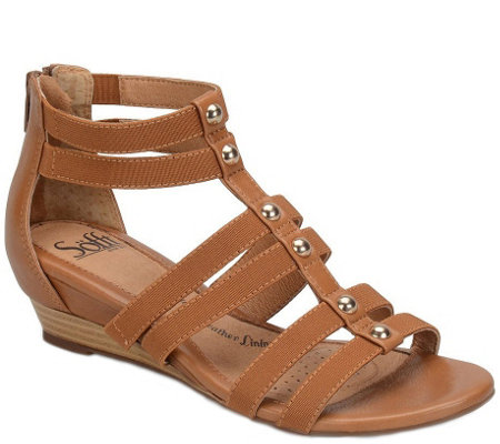 Sofft Wedge Sandals - Rasida