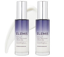 Elemis Peptide4 Night Recovery Cream-Oil Duo - A341971