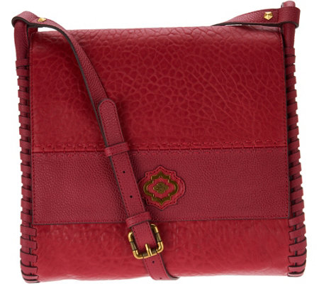 """As Is"" orYANY Lamb Leather Convertible Shoulder Bag - Roxie"