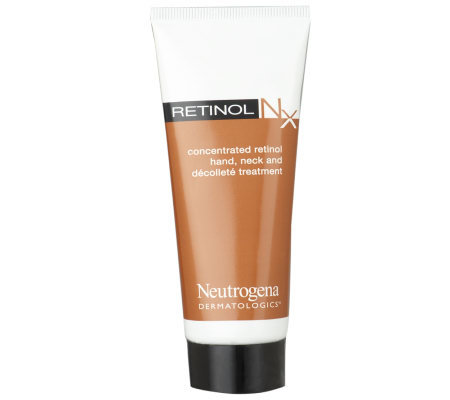 Neutrogena Dermatologics Retinol NxHand, Neck&Decollete Treatment