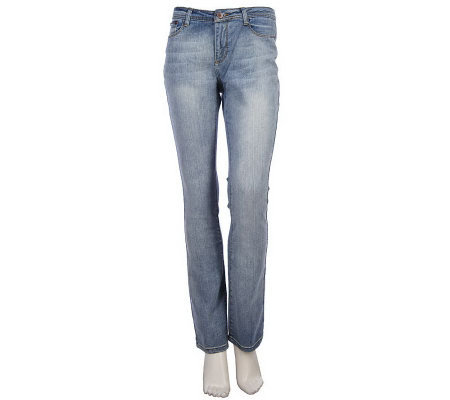 K-DASH by Kardashian Curvy Boot Cut Jeans