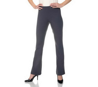 Women with Control Petite Pull-on Low Bell Pants - A220172