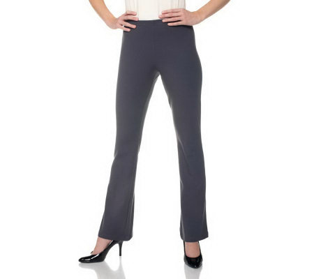 Women with Control Petite Pull-on Low Bell Pants