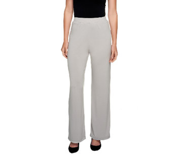 George Simonton Tall Crystal Knit Pull-on Pants - A222072