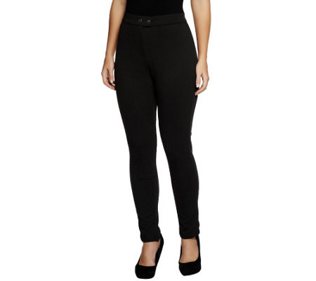 Status by Star Jones Leggings with Patch Detail