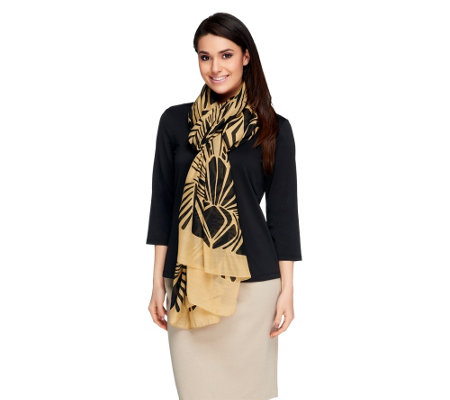 Nicole Richie Collection Two Way Printed Scarf
