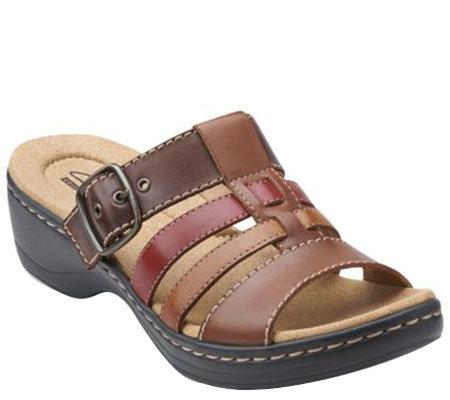 Clarks Multi-strap Slide Sandals - Hayla Cavern