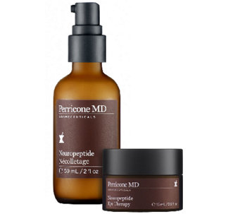 Perricone MD Neuropeptide Eye Therapy and Necolletage Duo Auto-Delivery - A266572