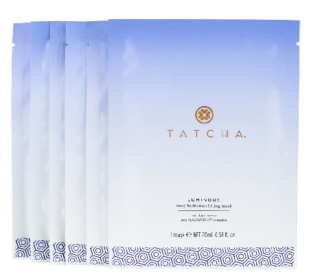 TATCHA Luminous Set of 6 Deep Hydration Masks