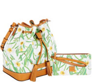 Dooney & Bourke Drawstring Bag with Wristlet