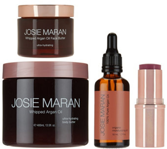 Josie Maran Whipped Argan Oil Buttery Soft Skin 4 Piece Kit - A277872