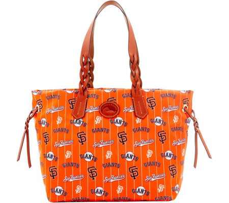 Dooney & Bourke MLB Nylon Giants Shopper