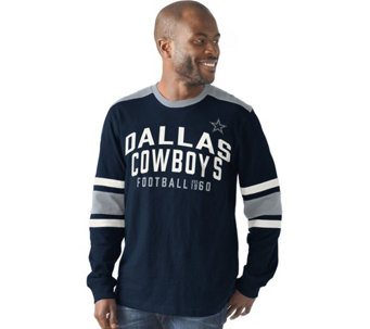 NFL Dallas Mens Slub Jersey Long Sleeve Top - A282272