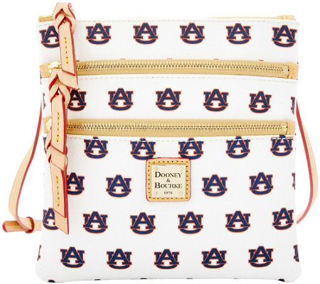 Dooney & Bourke NCAA Auburn University Zip Crossbody