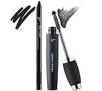 IT Cosmetics Hello Lashes 5-in-1 Mascara & No Tug Eyeliner Duo - A287172