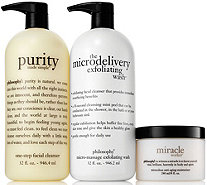 philosophy super-size skincare favorites trio Auto-Delivery - A287372