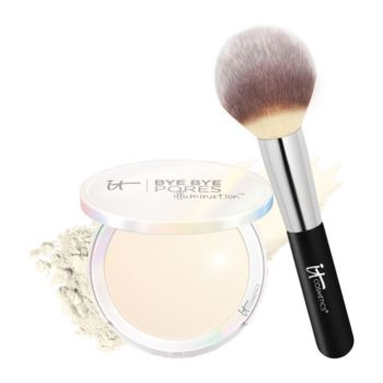 IT Cosmetics Bye Bye Pores Pressed Illumination with Brush