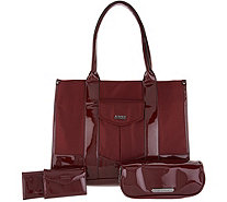 Aimee Kestenberg Nylon Tote Bag w/ Accessories - A300672