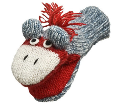 Nirvanna Designs Cute Monkey Mittens