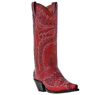 Dan Post Leather Cowboy Boots - Sidewinder - A331872