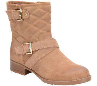 Comfortiva by Softspots Leather or Suede AnkleBoots - Vestry - A355172