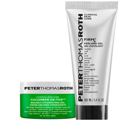 Peter Thomas Roth FIRMx Peeling Gel & CucumberGel