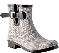 Nomad Rubber Rain Booties - Droplet Textured - A357772