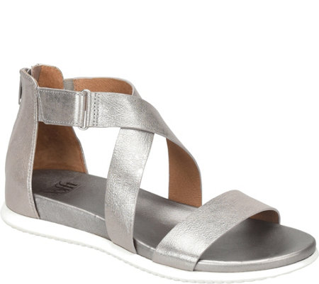 Sofft Leather Sandals - Fiora