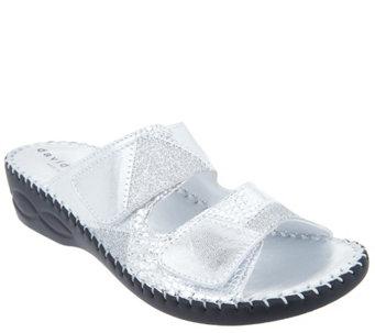 David Tate Casual Slide Sandals - Flex - A412472