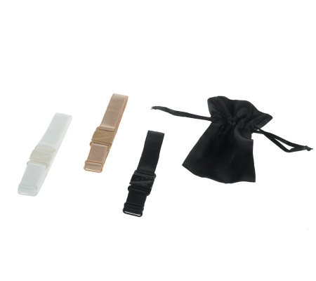 Bralief Set of 3 Bra Clips with Storage Pouch