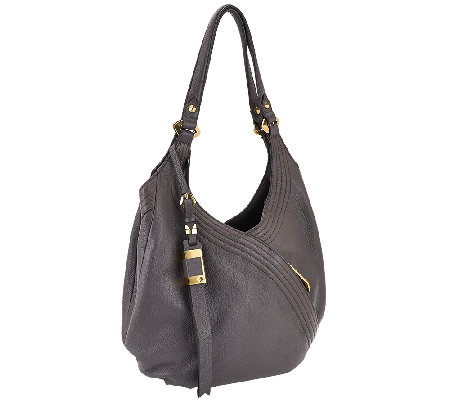 orYANY Italian Grain Leather Hobo - Medium Tracy