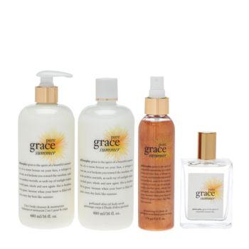philosophy pure grace summer 4-piece layering kit