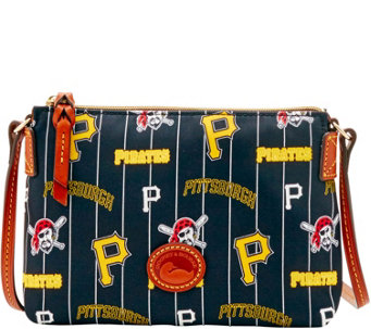 Dooney & Bourke MLB Nylon Pirates Crossbody Pouchette - A281573