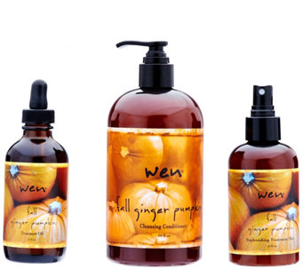 WEN by Chaz Dean 3-Piece Fall Cleanse & Treat Collection - A284373