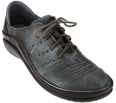 Naot Leather Lace-up Shoes - Kumara