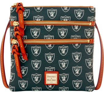 Dooney & Bourke NFL Raiders Triple Zip Crossbody - A285673
