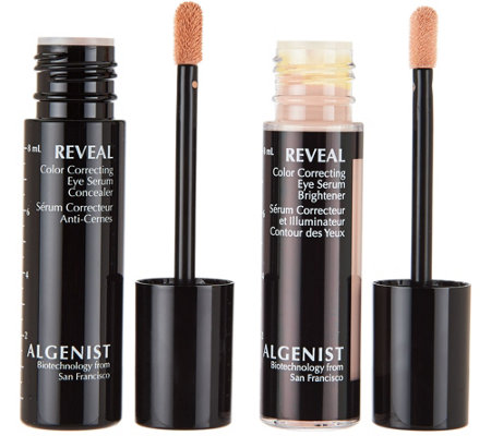 Algenist REVEAL Color Correcting Concealer & Brightener Set