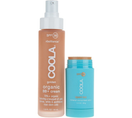 Coola Rosilliance BB Cream SPF 30 with Tinted Sport Stick