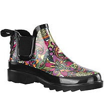 Sakroots Rubber Rain Booties - Rhyme - A339873