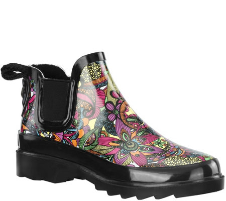Sakroots Rubber Rain Booties - Rhyme