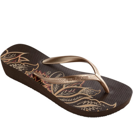 Havaianas Wedge Flip-Flop Sandals - High Light  II