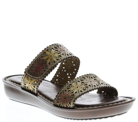 Spring Step L'Artiste Slide Sandals - Tashika
