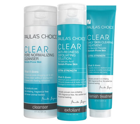 Paula's Choice Three-Piece Clear Kit - Extra Strength