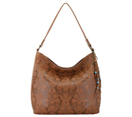 the sak Leather Hobo - Indio