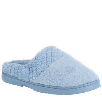 MUK LUKS Micro Chenille Clogs with QuiltedBand