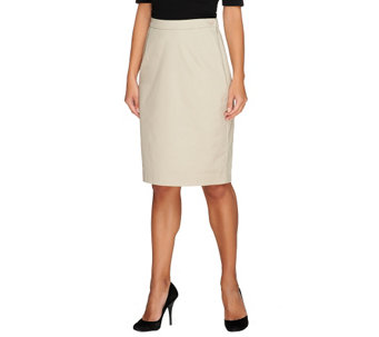 Joan Rivers Wardrobe Builders Complement Slim Skirt - A220474